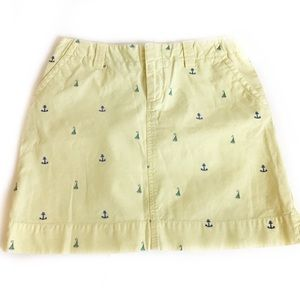 Lilly Pulitzer Skirts - Vintage Lily Pulitzer-Nautical Print Skirt